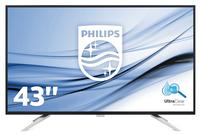 Philips BDM4350UC 43 inch LCD monitor 3840 x 2160 Black Speakers
