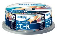 Philips CD-R 90Min 800MB 40x SP (25)