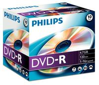 Philips DVD-R 4,7GB 16X JC (10)