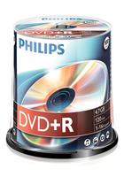DVD+R Philips 4.7GB 100pcs spindel 16x