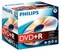 Philips DVD+R 4,7GB 16x JC (10)