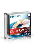 Philips DVD+RW 4.7GB 4x Slim (5)