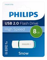 Philips USB 2.0 8GB Snow Edition Green