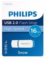 Philips USB 2.0 16GB Snow Edition Blue