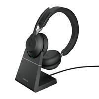 Jabra Evolve2 65, Link380c UC Stereo incl Stand Bluetooth USB-C - Zwart