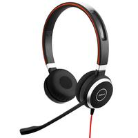 Jabra Evolve 40 UC Stereo On-ear Wired Headset HD Audio - USB A