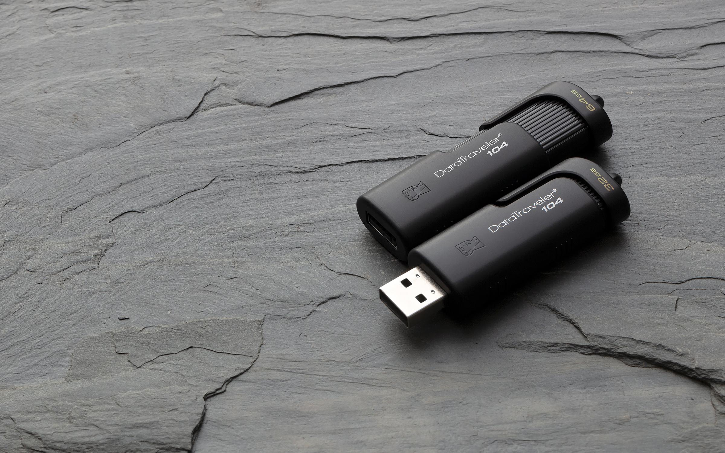 Kingston DataTraveler 104 16GB USB Type-A stick Black