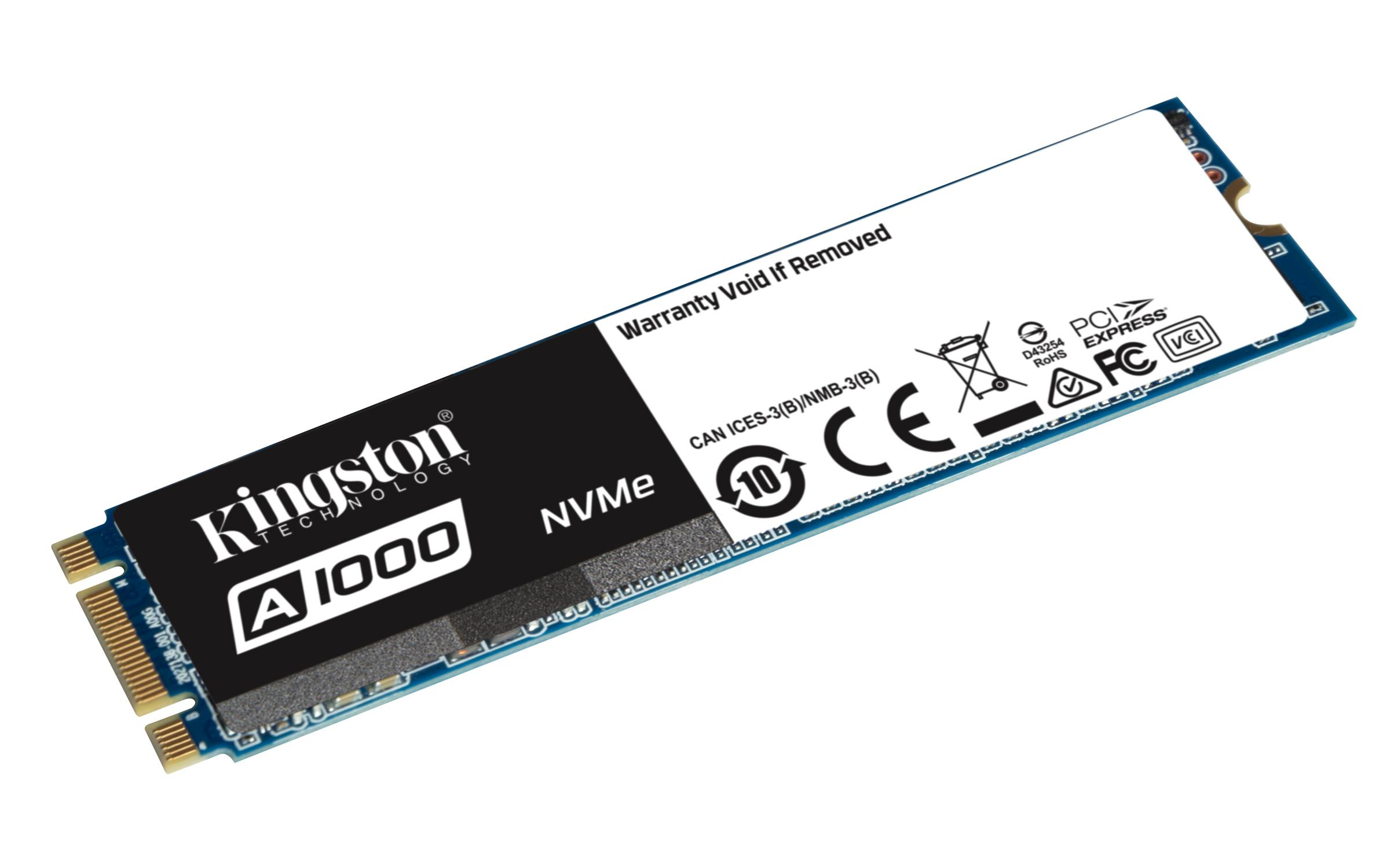 Kingston SSD 960 GB A1000 PCI Express drive