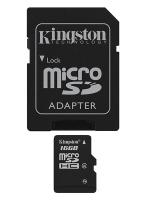 Kingston 16GB MicroSDHC class 4 + Adapter