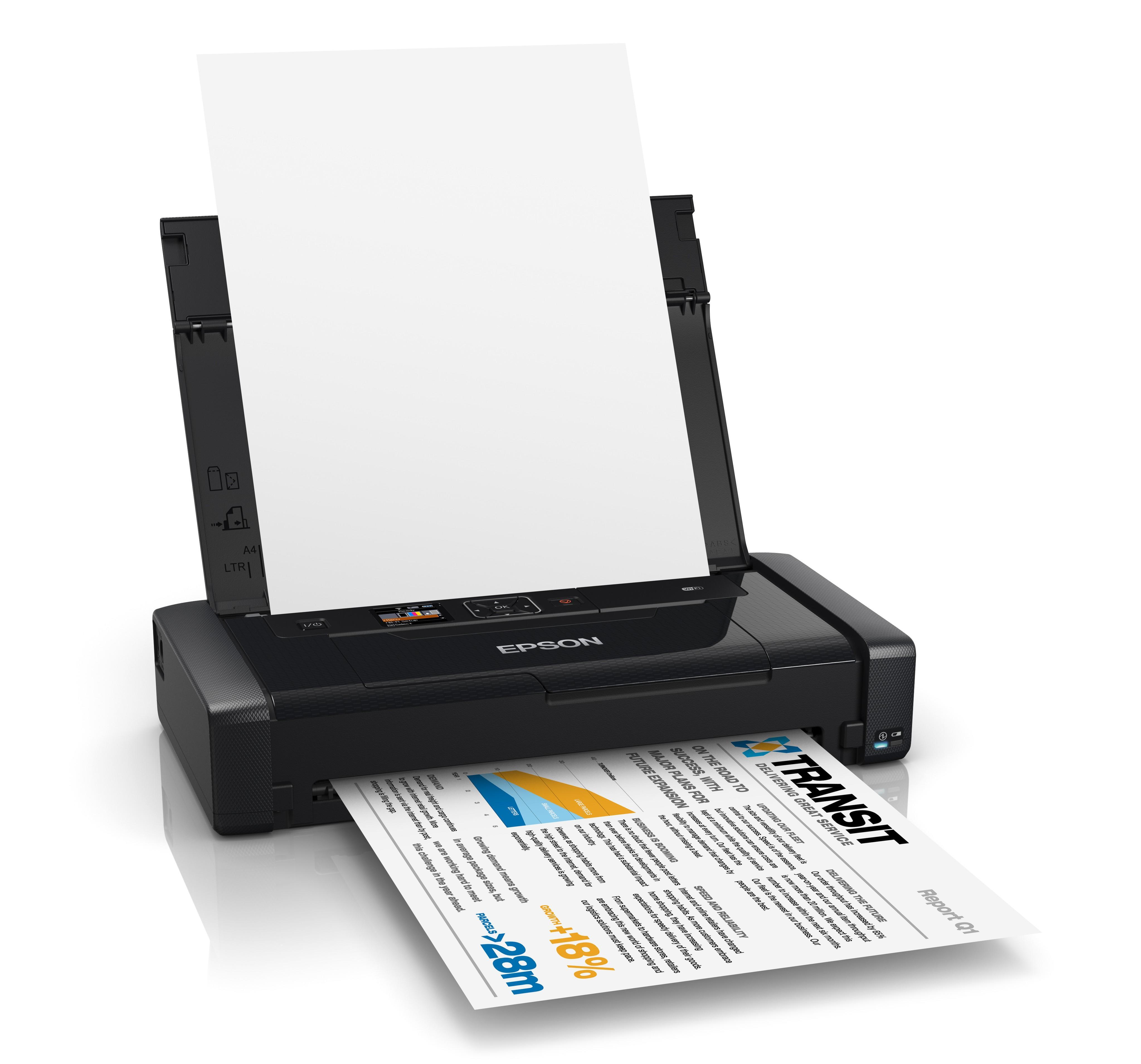 Buyitdirect Epson Workforce Wf 100w Mobile Inkjet Printer
