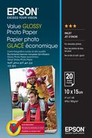 Paper/Value Glossy Photo 10x15cm 20sh