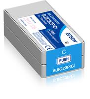 EPSON Ink cartridge, cyan, for Epson TM-C3500