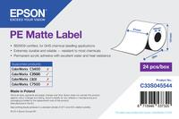 PE Matte Lbl Continuous Roll 51mm x 29m