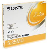 "Sony 5,25"" 2,3GB Worm 512B/S"