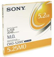 "Sony 5,25"" 5,2GB Worm 2048B/S"