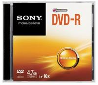 DVD-R 16X SLIM CASE DVD-R 16X SLIM CASE