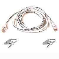 50CM WHT CAT5E SNAGLESS PATCH CABLE 50Cm White Cat5E Snagless Patch Cable